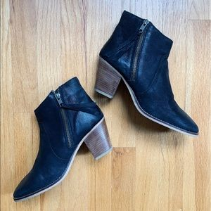 Urban Outfitters Black Leather Boots